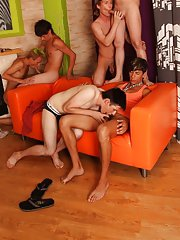Male humiliation groups on yahoo and gay group sex party at Crazy Party Boys