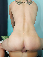 Twink boy bareback and boys masturbating in character underwear