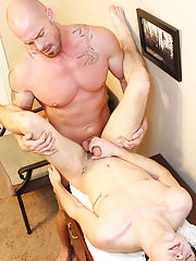 Young boy dildo fuck and young shower jacking off at My Gay Boss