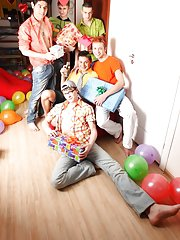 Gay slave groups and gay group sex pics at Crazy Party Boys