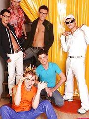 Gay newsgroups for escorts san francisco and gay group masturbation video at Crazy Party Boys