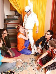 Texas gay youth groups and group treatment for drug addiction at Crazy Party Boys