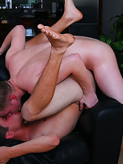 Gay blowjobs with friends and short emo twink getting fucked by muscle man