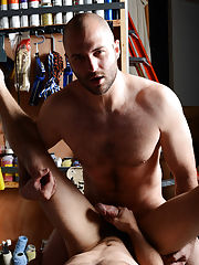 Nude gay boxers hairy fuck videos and show big hairy dick fucking gay guy at My Gay Boss
