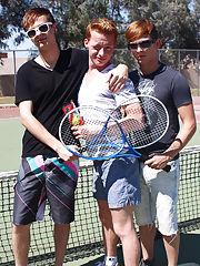 Twink destruction and gay teen hand jobs cute friends