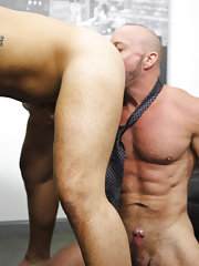 Big uncut dicks beating off and filipino gay fucking with blacks at My Gay Boss