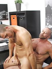 Big uncut dicks beating off and filipino gay fucking with blacks at My Gay Boss