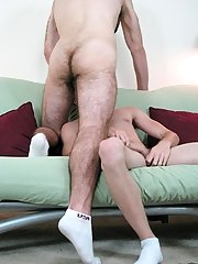 To corrupt the job done Diesel took over and jerked himself rotten, so that technique he would be able to have an orgasm gay guys eat cum