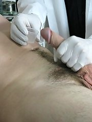 Then, I was asked to turn over so that he could take my temperature amateur sex video of my wif