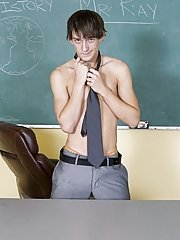 Today is the day that this teacher's wildest dreams come true first gay sex home at Teach Twinks