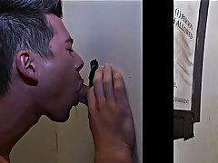 Big gay men first blowjob and latex blowjob gay videos