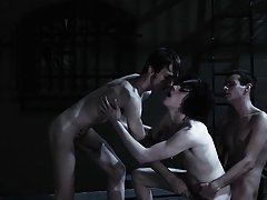 Super gay porn group sex xxx and gay travel in group - Gay Twinks Vampires Saga!