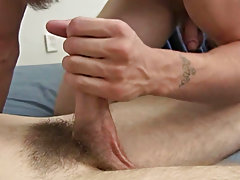 Video guy jerk off another gay cumshot and gay blonde cumshot facial