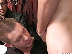 Nude black college males getting jacked off and eating twink cum gay clip at Sausage Party