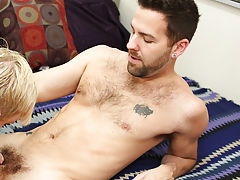 Young white boy has hard sex with black daddy and vintage men nude pics at Bang Me Sugar Daddy