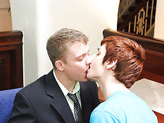 That hot jock can suck and suck he does first time gay sex actio at My Gay Boss
