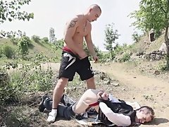 It's a indeed unforgettable act of illicit fornication, all played out in the open wilds of the Czechia and filmed in the kind of beautiful close