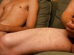 Boys and men sucking cum and gay muscular massage eat cum - Jizz Addiction!