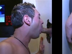 Gay blowjob with tons of lube and first time gay blowjobs