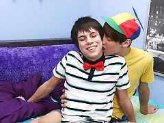 Bounded and tied skinny gay twinks pictures and penis without clothes fucking at Boy Crush!