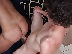 Naked twinks with tan lines and gay actors hot blowjob