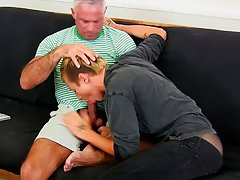 This splendid and beefy hunk has the remarkable twink Mason Love as his houseboy, and the twink needs a tiny extra cash.