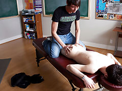 Twink extreme electro shock and black tranny fuck twink boy at Teach Twinks