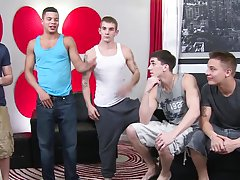 Naked hot gay japanese men blowjob and group of boys show cocks