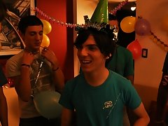 Twinks Happy Birthday party gay pic free twink at Julian 18