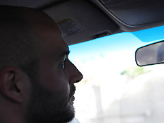 Big dad David Chase goes back to his car, voided urine off, and this chab fantasizes about teaching that rude chap a lesson hardcore fat gay sex at Ba