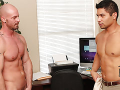 Boss fuck boy and huge bubble butt naked boys at My Gay Boss