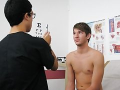 Everything appeared to be good from the ear and face hole exam to the testing of his reflexes young boys teen twinks fre