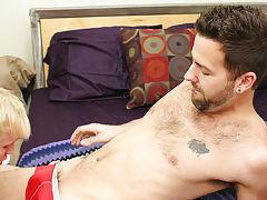 Gay guy kissing porn for free at Bang Me Sugar Daddy
