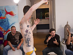 Group sex gay guys and gay college groups at Sausage Party