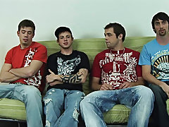 Free gay group porn and gay group cock sucking