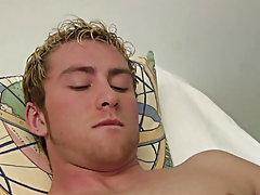 Artistic male masturbation