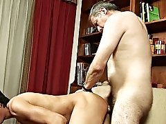 See the muscular knave start jacking off his firm food again as his older lover works that hole young boys in nude
