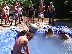 there is nothing like a nice summer time splash, especially when the pool is man made and ghetto rigged as fuck gay group sex partys