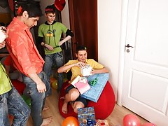 Gay group sex orgies and group sex guy at Crazy Party Boys