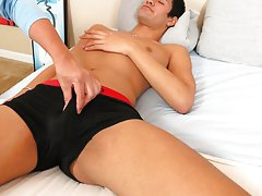 Gay male masturbation machines and straight boys sucking huge dicks