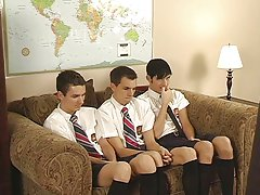 He undresses 'em down and then teaches them how to engulf cock twink gay free at Teach Twinks