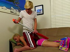 Spanking with a paddle leads to a lot greater amount when that hot butt is exposed, with Jeremy easing his raw twink wang inside for a lustful ride yo