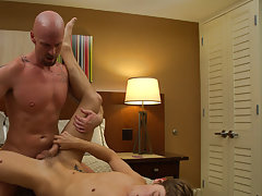 Older man fingers boy and soft sex in the showers pics at I'm Your Boy Toy