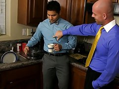 Interracial gay video and interracial gay anal fucking at My Gay Boss
