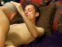 Phillip eats him out eagerly previous to sliding his hard weenie right up that Daddy-hole, fucking him hard until they're both ready to blow prep