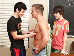 Hot twinks sex at boy tv and anal for men at Teach Twinks