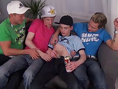 Muscle man fucks twink boy and scrotum boys twink at Staxus