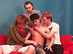 Gay group sex anal at BangedBoys
