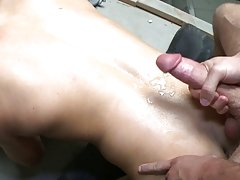 Outdoors piss and cum gay porn