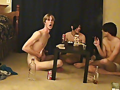 """ This is a lengthy clip for you voyeur types who like the idea of watching those chaps receive naked, drink, talk and play filthy games gay twin"